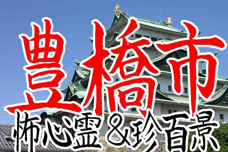豊橋市の心霊スポット&珍百景B級スポット