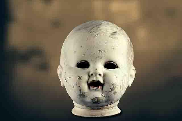 丸山ダム心霊スポット心霊写真笑う子供の彫刻