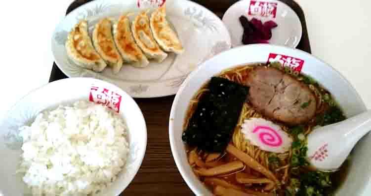 ラーメン厨房白龍餃子定食