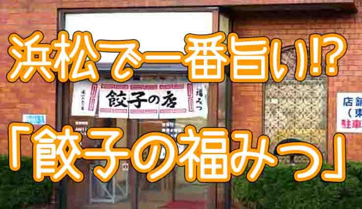 浜松餃子駅前で美味しい店