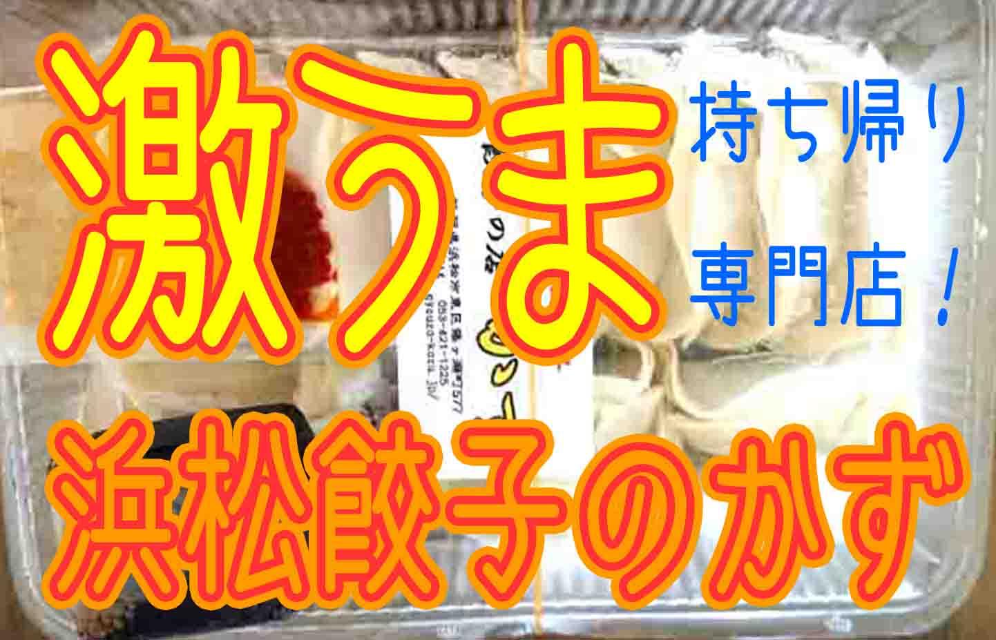 浜松餃子のかずは持ち帰り専門店!安くて美味しい餃子をテイクアウトで満喫