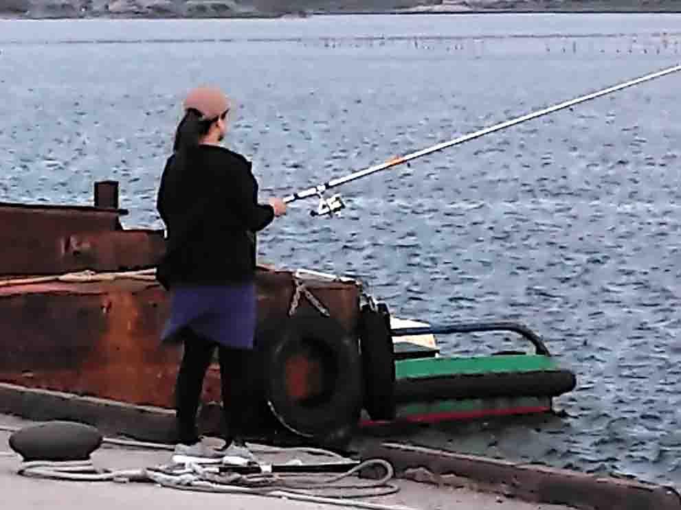 冬のサビキ釣り