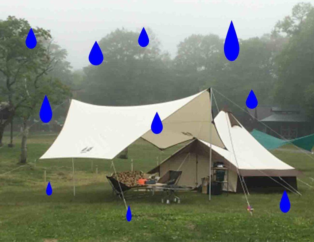 渚園キャンプ天気