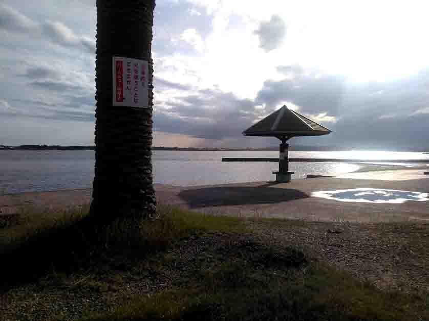 浜名湖のちょい投げ釣り