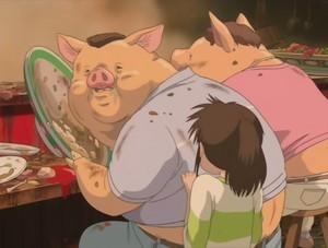 千と千尋の神隠し都市伝説豚