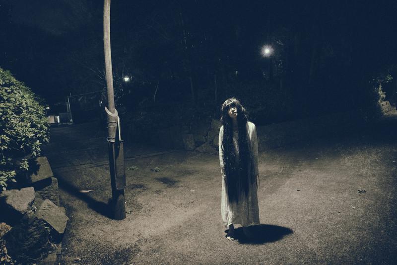 八丁池の女の霊