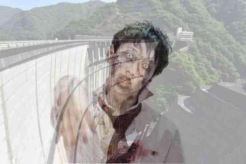 丸山ダムの心霊写真