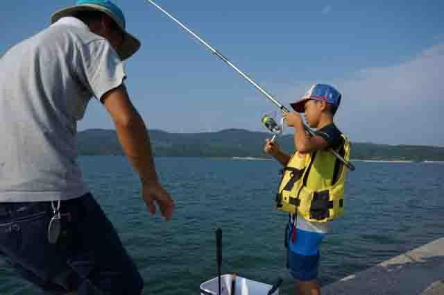 サビキ釣り子供