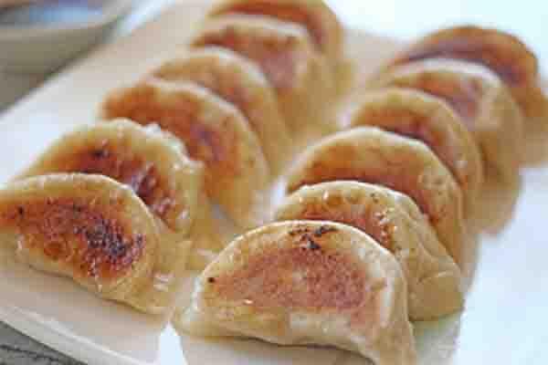 天津餃子の焼き餃子