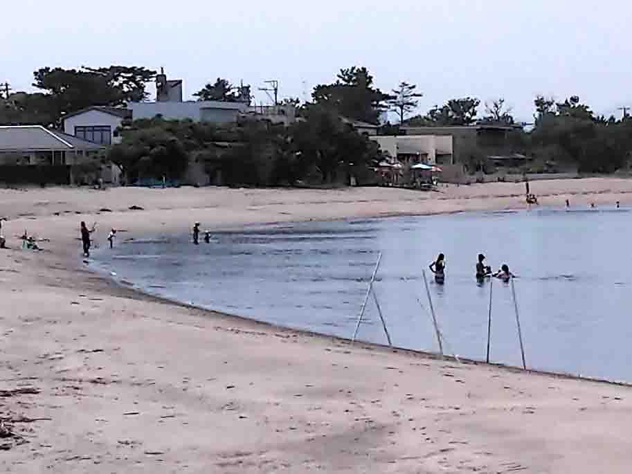 浜名湖海釣り公園の海水浴場