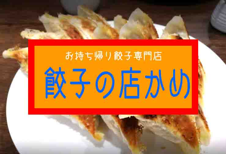 浜松餃子のお持ち帰り